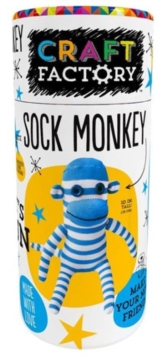 Craft Factory Sock Monkey, Mixed media product Book