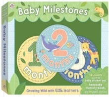 Baby Milestones: Growing Wild with Little Learners, Mixed media product Book