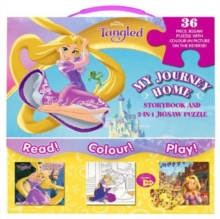 Disney Princess Tangled My Journey Home : Storybook and 2-in-1 Jigsaw Puzzle, Mixed media product Book