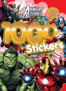 Marvel Avengers Assemble 1000 Stickers : Over 60 activities inside!, Paperback Book