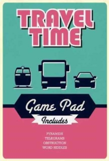 Travel Time Game Pad, Paperback Book