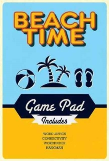 Beach Time Game Pad, Paperback Book