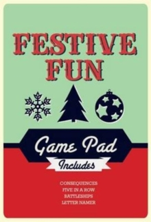 Festive Fun Game Pad, Paperback Book