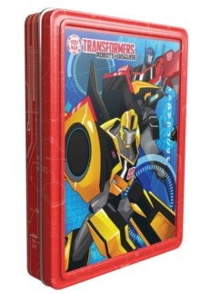 Transformers Robots in Disguise Happy Tin, Mixed media product Book