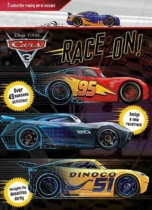 Disney Pixar Cars 3 Race on! : 2 Collectible Trading Cards Included, Paperback Book