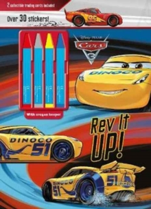 Disney Pixar Cars 3 Rev It Up! : 2 Collectible Trading Cards Included, Mixed media product Book