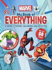 Marvel My Book of Everything : Stories, Stickers, Colouring and Activities, Hardback Book