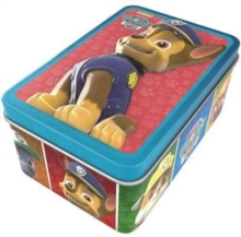 Nickelodeon PAW Patrol 3D Jigsaw Tin, Mixed media product Book