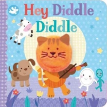 Little Learners Hey Diddle Diddle Finger Puppet Book, Board book Book