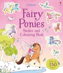 Fairy Ponies Sticker and Colouring Book, Paperback Book
