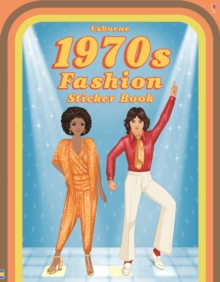 1970's Fashion Sticker Book, Paperback Book