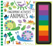 Fingerprint Activities : Animals, Spiral bound Book