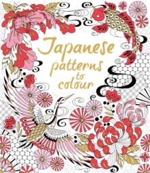 Japanese Patterns to Colour, Paperback Book
