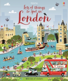 Lots of Things to Spot in London, Paperback Book
