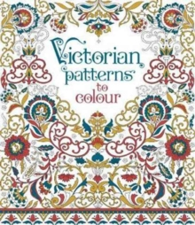 Victorian Patterns to Colour, Paperback Book