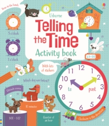 Telling the Time Activity Book, Paperback Book