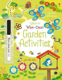Wipe-Clean Garden Activities, Paperback Book