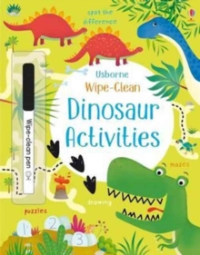 Wipe-Clean Dinosaur Activities, Paperback / softback Book