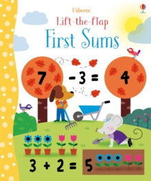 Lift-The-Flap Sums, Board book Book