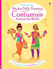 Sticker Dolly Dressing Costumes Around the World, Paperback Book