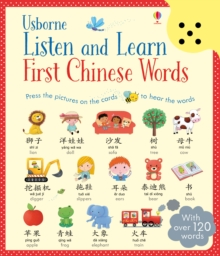 Listen and Learn First Chinese Words, Hardback Book