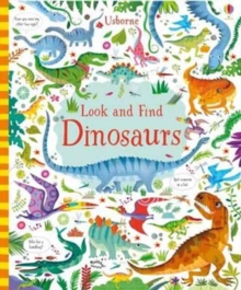 Look and Find Dinosaurs, Hardback Book