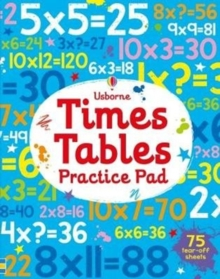 Times Tables Practice Pad, Paperback Book