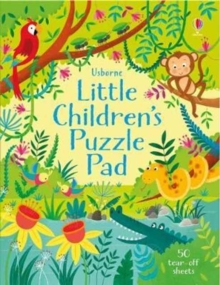 Little Children's Puzzle Pad, Paperback / softback Book
