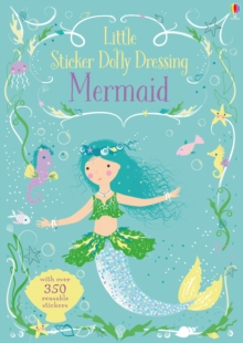 Little Sticker Dolly Dressing Mermaid, Paperback Book