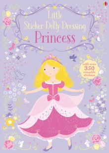Little Sticker Dolly Dressing Princess, Paperback / softback Book