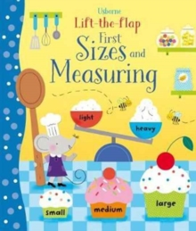 Lift-the-Flap First Sizes and Measuring, Board book Book