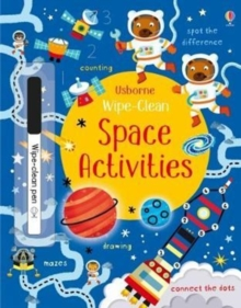 Wipe-Clean Space Activities, Paperback Book