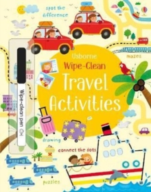 Wipe-clean Travel Activities, Paperback Book