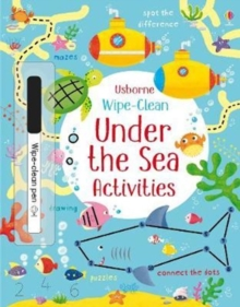 Wipe-clean Under the Sea Activities, Paperback Book