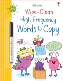 Wipe-Clean High-Frequency Words to Copy, Paperback Book