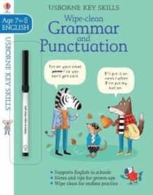 Wipe-Clean Grammar & Punctuation 7-8, Paperback / softback Book