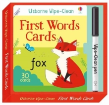 Wipe-Clean First Words Cards, Undefined Book
