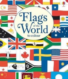 Flags to Colour, Paperback Book
