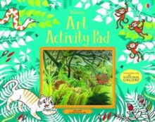 Art Activity Pad, Paperback Book