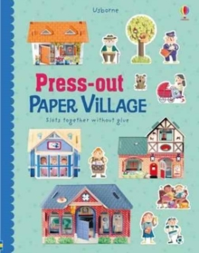 Press-Out Paper Village, Hardback Book