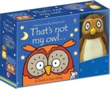 That's Not My Owl Book and Toy, Kit Book