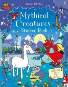 Mythical Creatures Sticker Book, Paperback Book