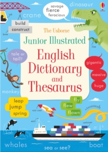 Junior Illustrated English Dictionary and Thesaurus, Paperback Book
