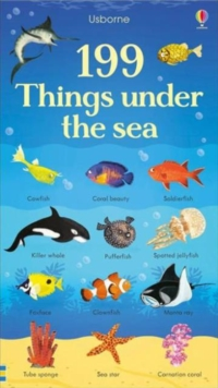 199 Things Under the Sea, Board book Book