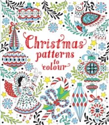 Christmas Patterns to Colour, Paperback Book