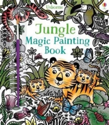Jungle Magic Painting Book, Paperback Book