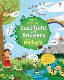 Lift-The-Flap Questions and Answers about Nature, Board book Book