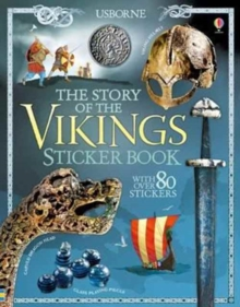 The Story of the Vikings Sticker Book, Paperback Book