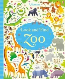 Look and Find Zoo, Hardback Book