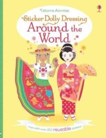 Sticker Dolly Dressing Around the World, Paperback Book